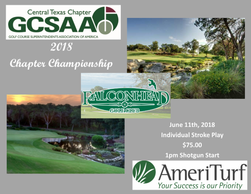 Aaron Clary Wins the 2018 Chapter Championship – Central Texas GCSA