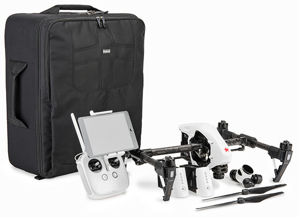 Helipak For DJI Inspire Backpack Offers Superior Organization, Comfort, And Travel Portability