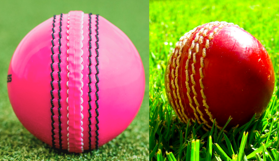 What is the Difference Between Pink Cricket Ball & Red Cricket Ball?