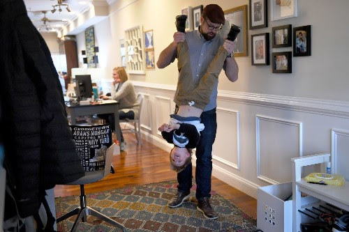 Fatherhood is more visible than ever. But will dads working from home actually step up more?