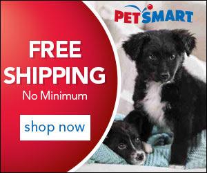 PetSmart Free Shipping Banner 300x250