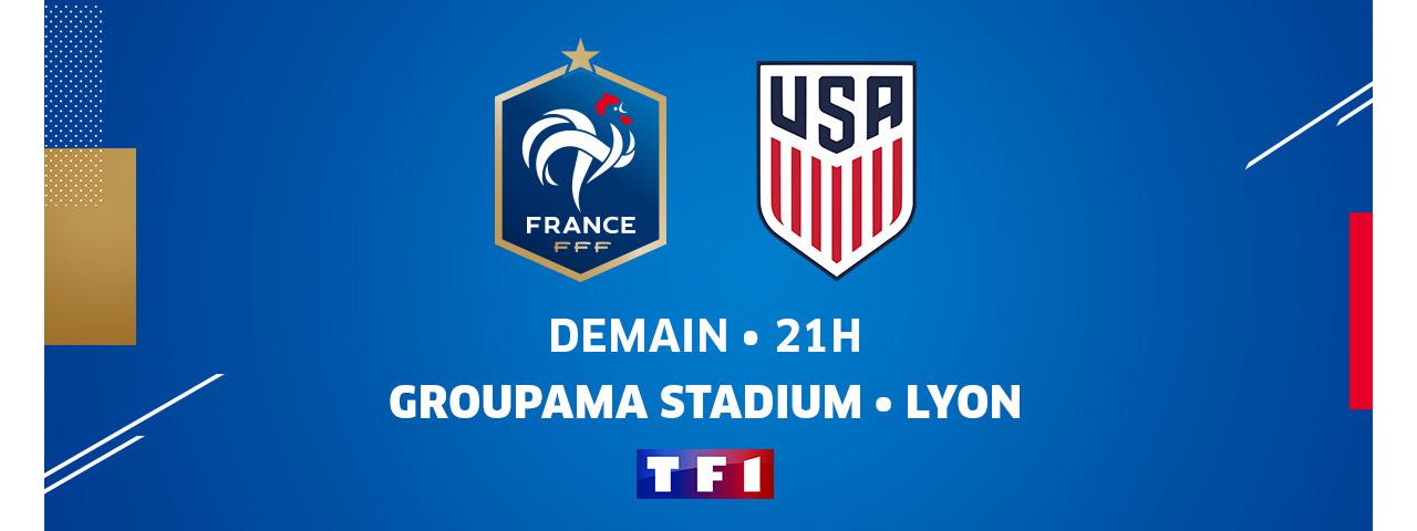 FRANCE - USA / DEMAIN 21H