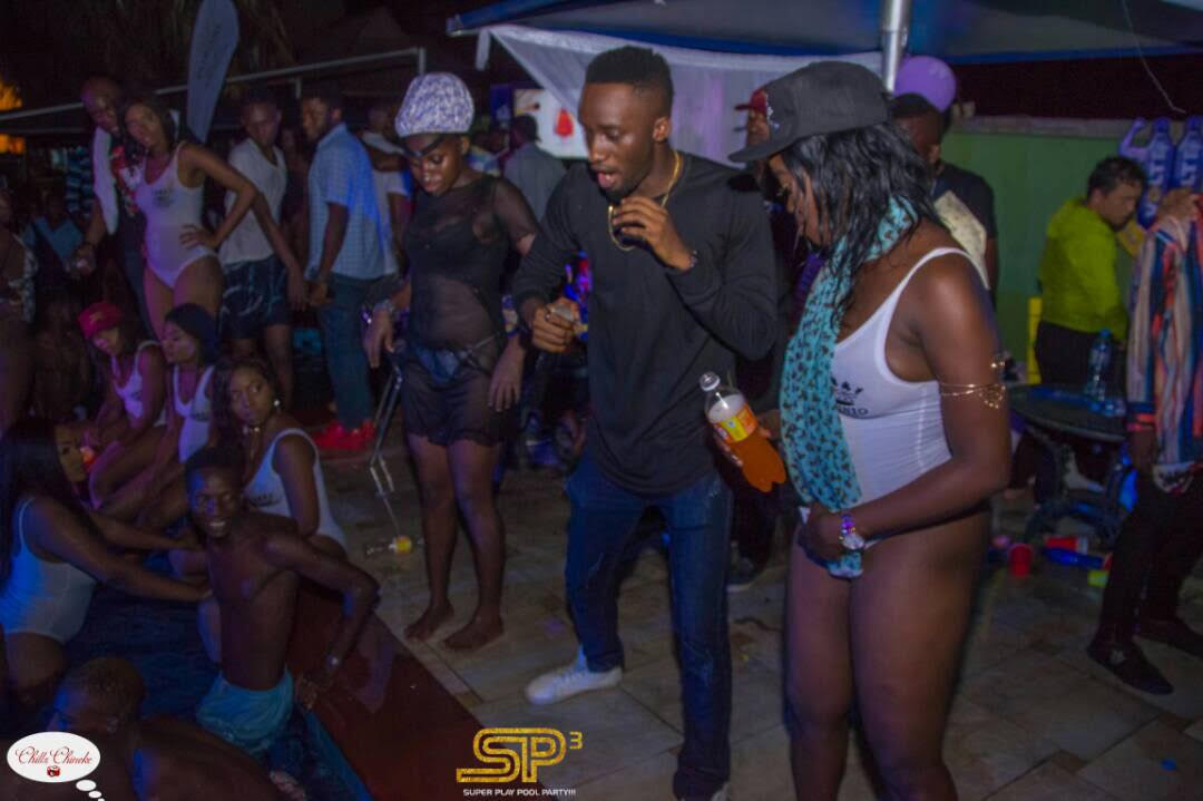 Photos : Bisola, Tin Tall Tony, Uriel, Bassey & Co party hard at MARVIS Super Play Pool Party Birthday Edition