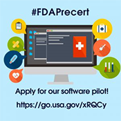 Apply for the FDA PreCert software pilot