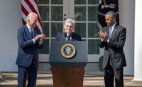 President Obama nominated Merrick Garland for the U.S. Supreme Court on March 16. (The White House/Wikimedia Commons)