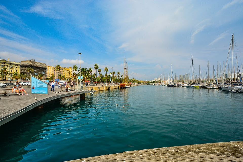 Barcelona, Espanha, Espanhol, Mar, Mediterrâneo