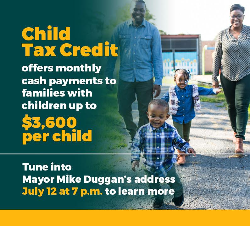 Mayor's Address on Child Tax Credit