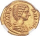 Lovely aureus of Julia Domna