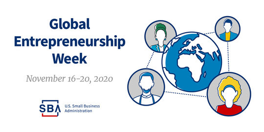 Global Entrepreneurship Week, November 16-20, 2020