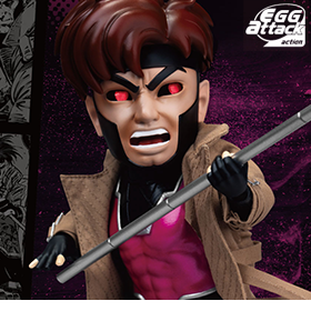 X-Men Egg Attack Action EAA-090DX Gambit PX Previews Exclusive