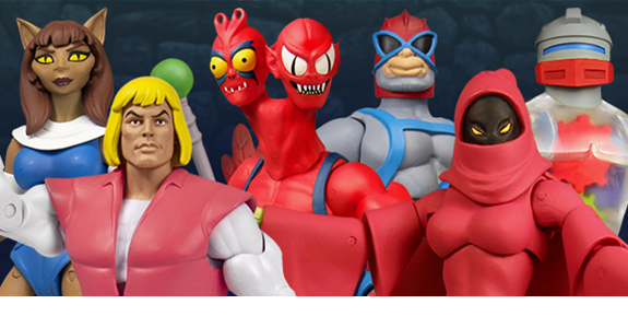Masters of the Universe Classics Club Grayskull Wave 4