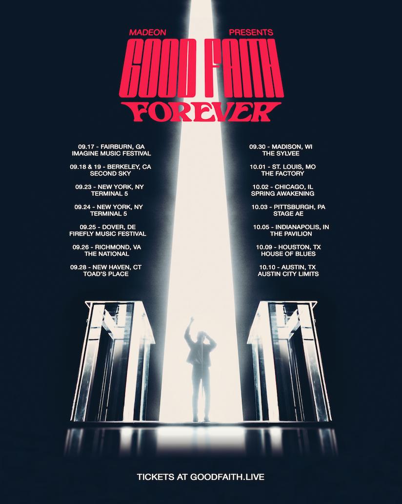 Madeon announces fall Good Faith Forever live tour4aba3fff 18e8 479e 8ade Ed82fb93b3a7