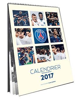 Couverture : Calendrier officiel du PSG 2017