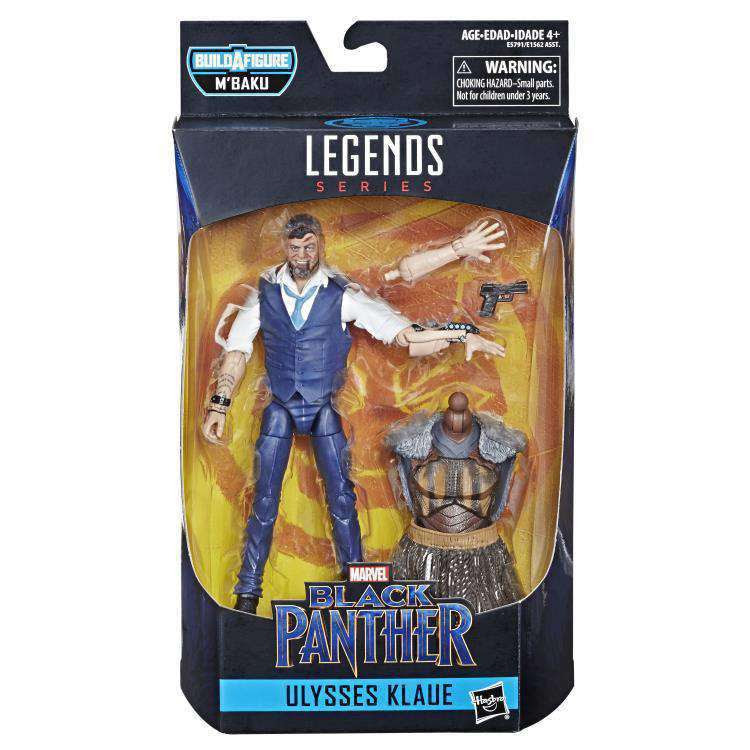 Image of Black Panther Marvel Legends Wave 2 (M'Baku BAF) - Ulysses Klaue - FEBRUARY 2019