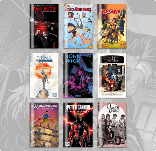 Humble Comics Bundle: Dynamite's 15th Anniversary Party