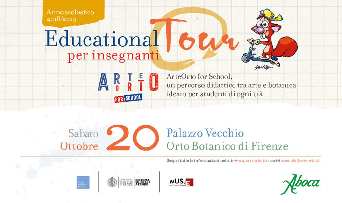 Educational Tour per insegnanti - Firenze