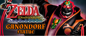 LEGEND OF ZELDA: WIND WAKER GANONDORF STATUE