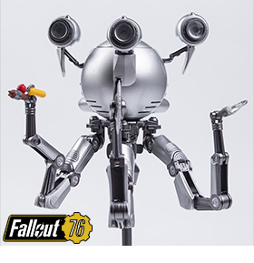 FALLOUT 76 MISTER HANDY DELUXE ARTICULATED FIGURE