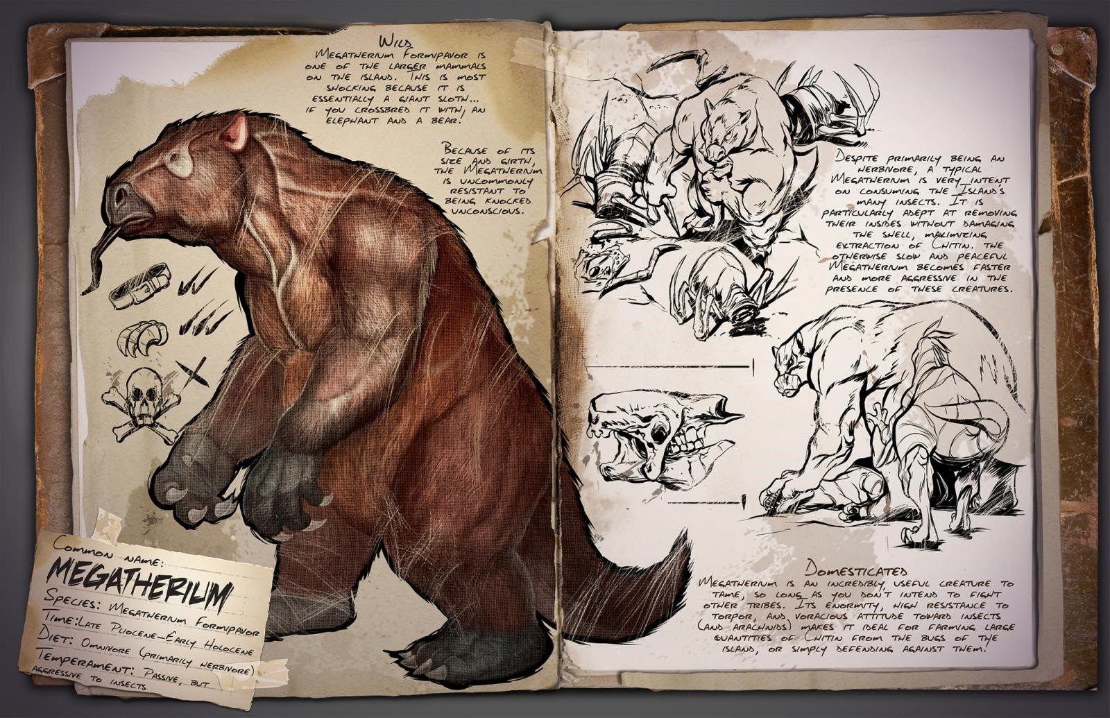 ARK: Survival Evolved - Megatherium