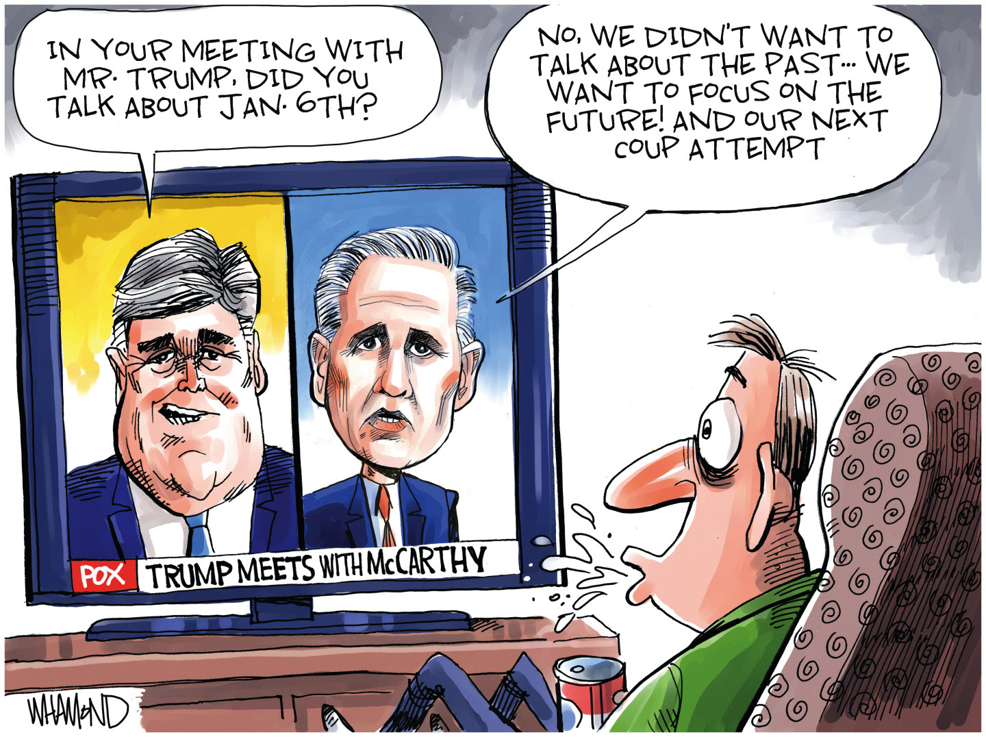 Kevin McCarthy fights Jan 6th investigation