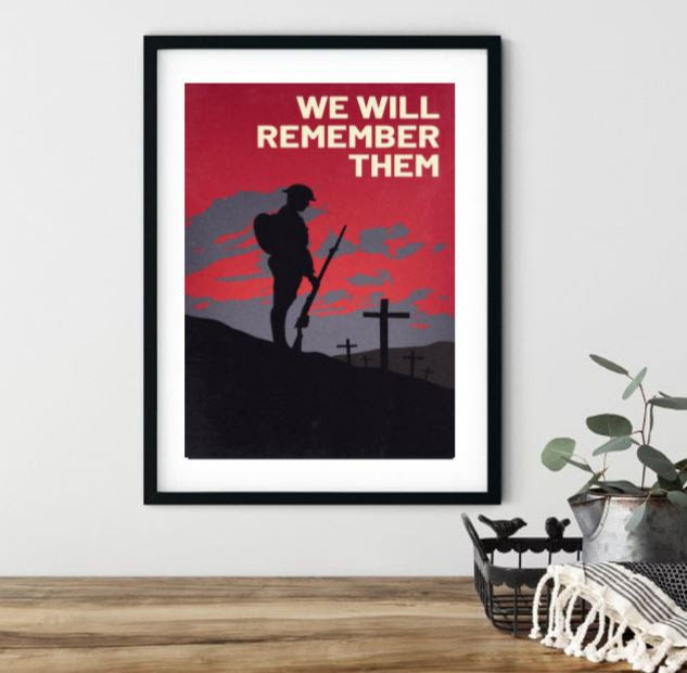 Original Tommy Wall Art | We Will Remember Them