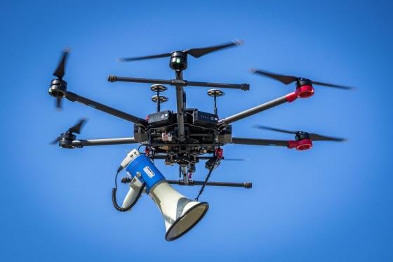 speaker drone