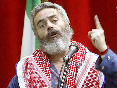 Juan Manuel Sánchez Gordillo, diputado de IULV-CA y alcalde de Marinaleda.- EFE