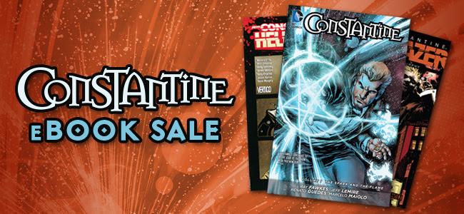 The Constantine: Hellblazer eBook Sale