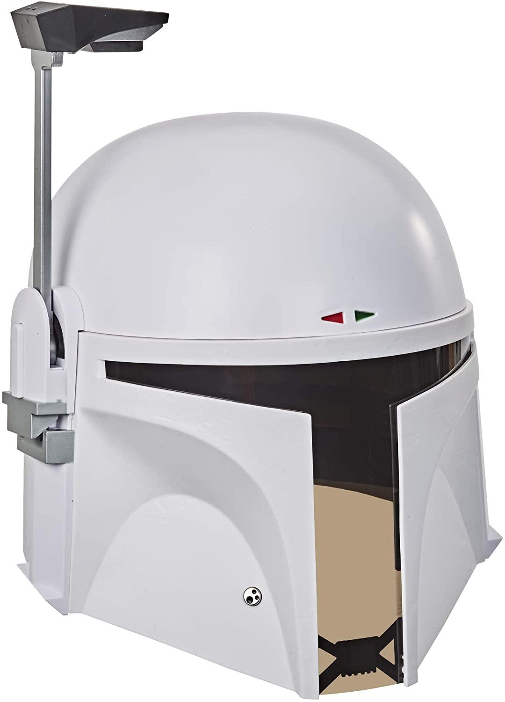 Image of Star Wars The Black Series Boba Fett (Prototype Armor) Premium Electronic Helmet Replica