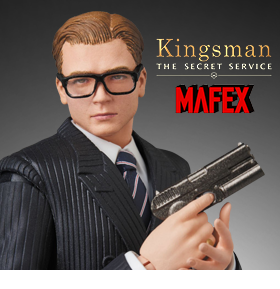 "KINGSMAN MAFEX NO.072 GARRY ""EGGSY"" UNWIN"