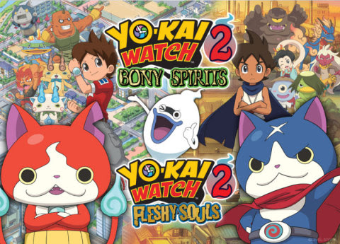 Now you can try out the new YO-KAI WATCH 2: Bony Spirits and YO-KAI WATCH 2: Fleshy Souls games befo ...