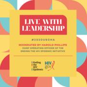 HIVgov Live with Leadership image