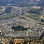 Aerial view of the Pentagon, Arlington, VA