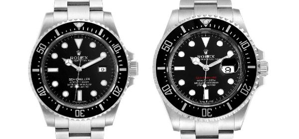The 40mm Rolex Sea-Dweller 4000 Steel Watch ref 116600 vs Rolex Sea-Dweller 43mm ref 126600