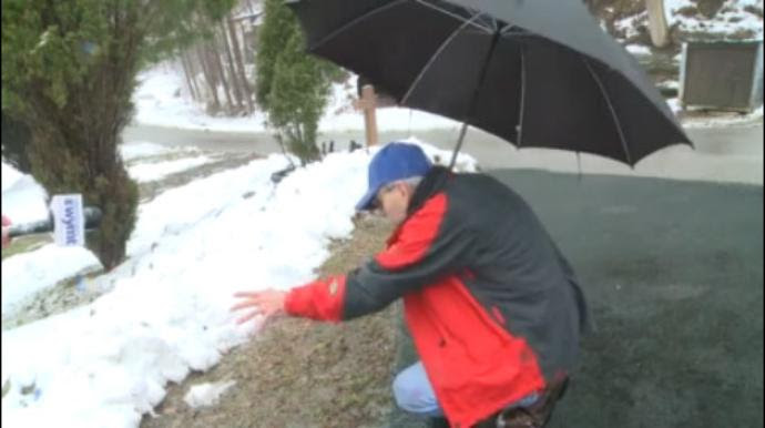 What This Man Finds While Shoveling Snow From His Driveway Will Make You Believe In Miracles (VID)
