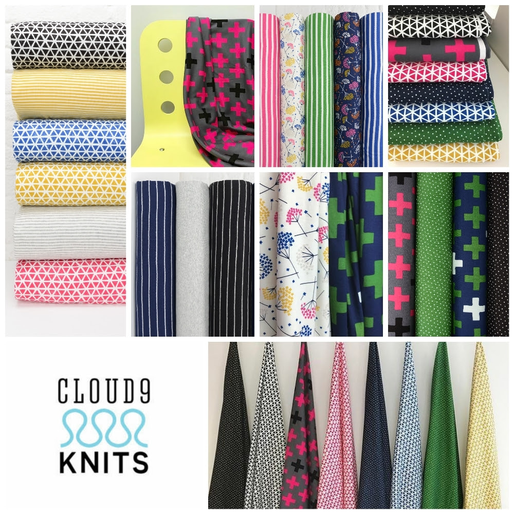 Cloud   Knits Fabric poster