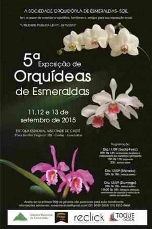 Cartaz - Esmeraldas 2015