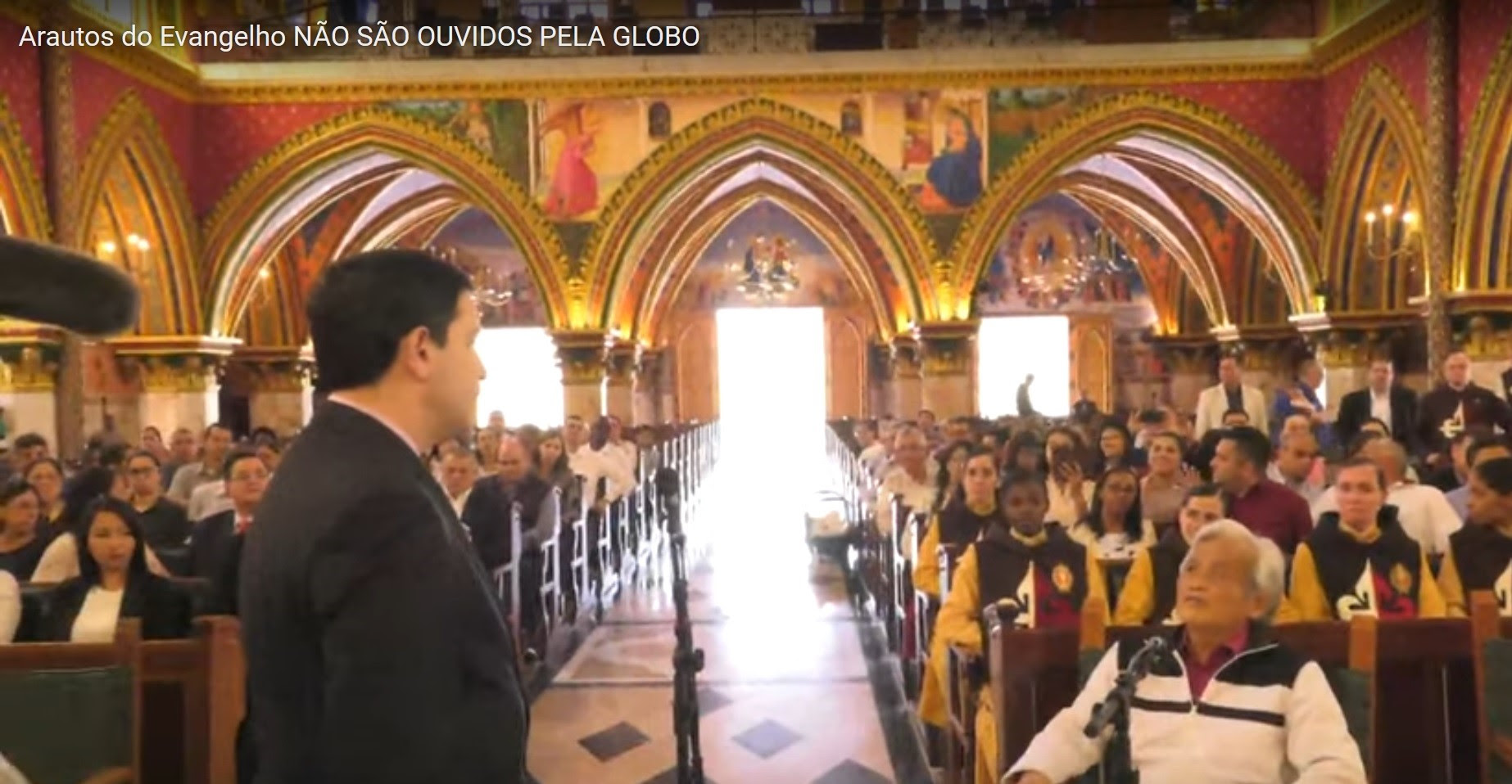 Arautos do Evangelho: Não são ouvidos pela Rede Globo