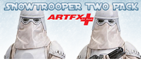 SNOWTROOPER ARTFX STATUE TWO PACK