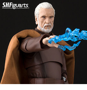 STAR WARS: REVENGE OF THE SITH S.H.FIGUARTS COUNT DOOKU EXCLUSIVE