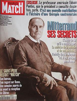Couverture Paris Match - Mitterand ses secrets
