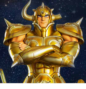Saint Seiya Gold Myth Cloth Taurus 1/4 Scale Statue