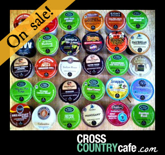 The Keurig Kcup 30 ct. Sampler...