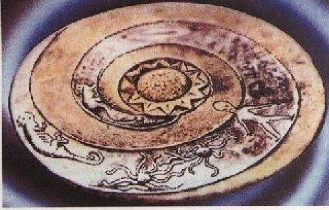 Lolladoff Plate alienígenas antiguos