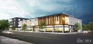 Garlington Center Concept Rendering