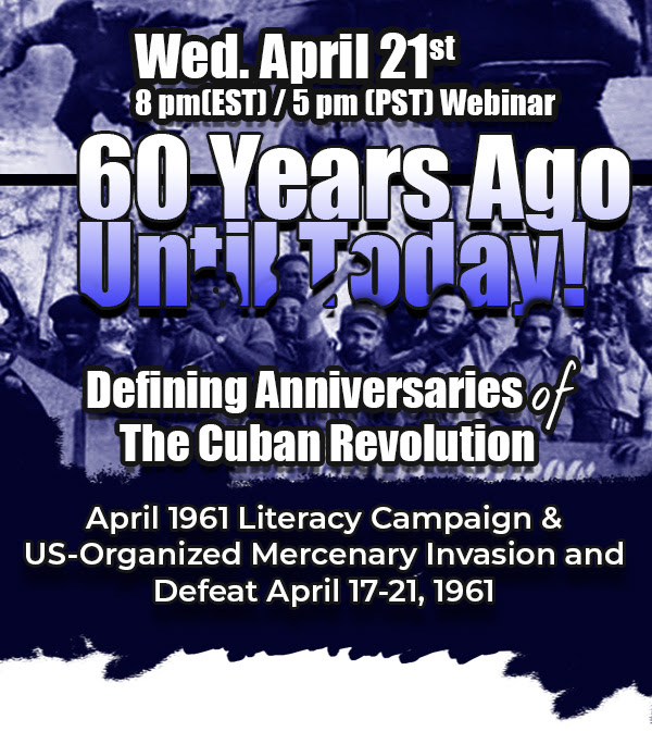60 Years Ago Until Today. Defining Anniversaries of The Cuban Revolution