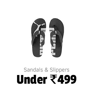 Sandals and Slippers under Rs.499