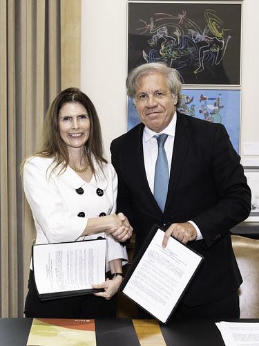OEA y PADF apoyarán políticas de inclusión social en países destino de migrantes venezolanos