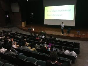 Clemente Freshman Invest in Politics Through Film