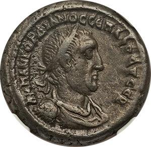 SICILY. Gela. Ca. 480-470 BC. AR tetradrachm. NGC Choice VF 5/5 - 4/5